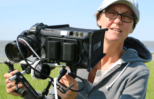 Cinematographer, visual ethnographer, media anthropologist Doerte Engelkes