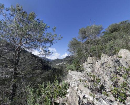 Wanderweg zwischen Fanghetto und Airole
